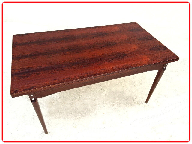 table palissandre design scandinave