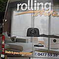 Rolling store bruxelles belgique décoration