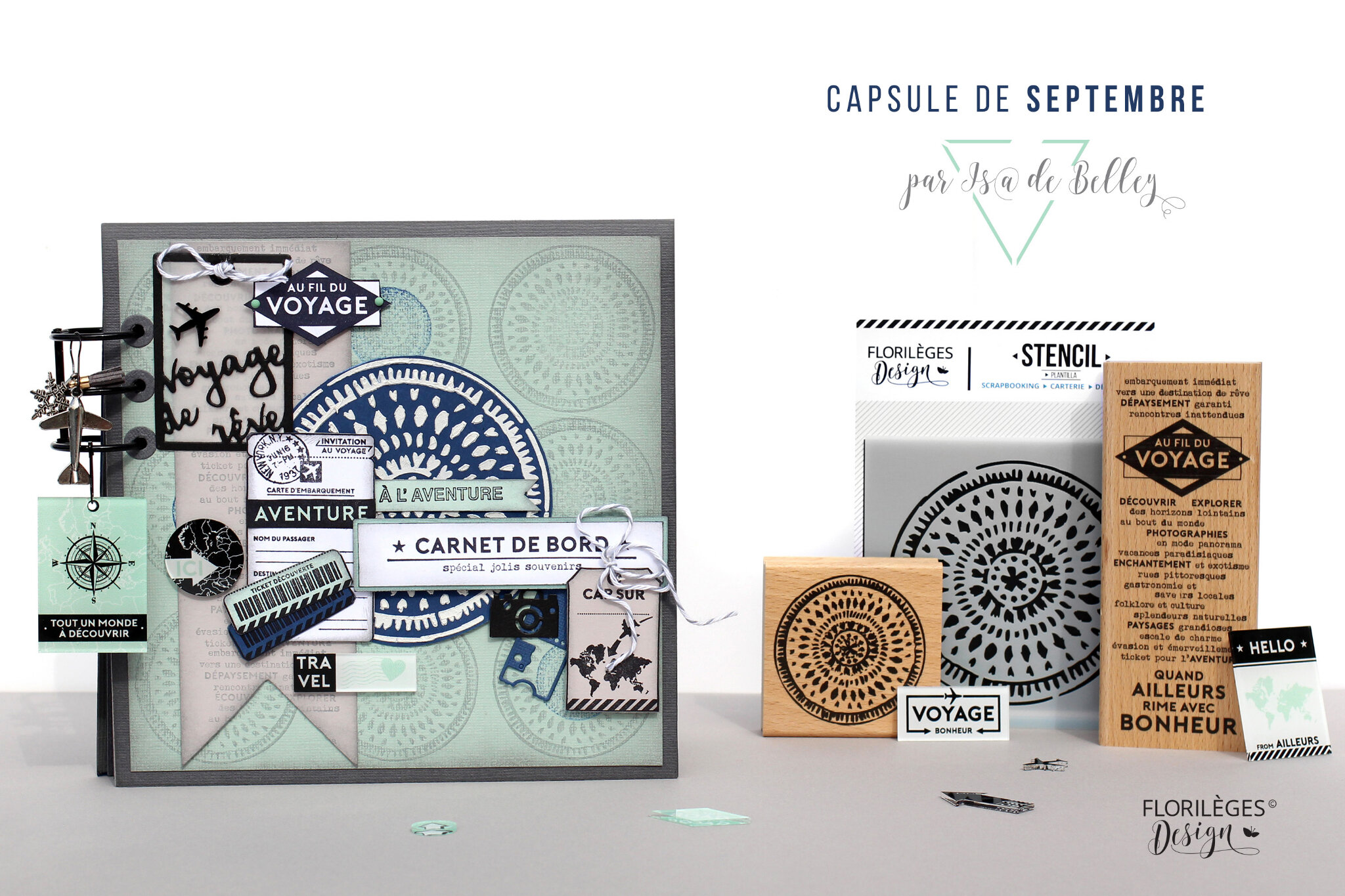 La Capsule de Septembre 2018 scrapée par Is@ de Belley