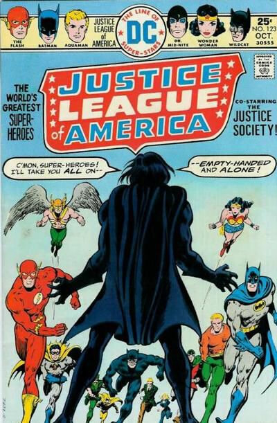 justice league of america 123