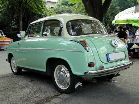 LLOYD Alexander TS 1960 Internationales Oldtimer Meeting Baden-Baden 2009 2