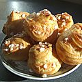Chouquettes micro-ondes