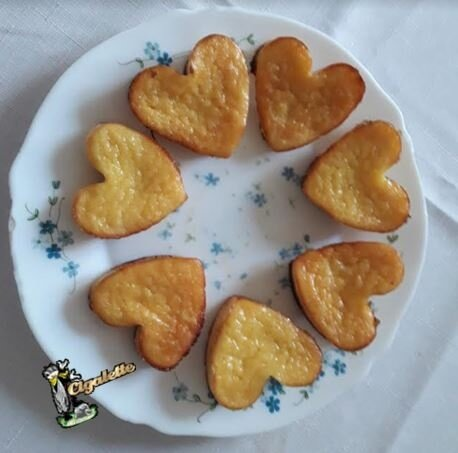 gateau ananas coeur