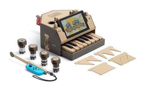 piano switch nintendo labo EzEvEl
