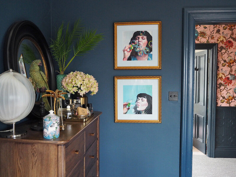 13-Navy-Walls-in-the-Baker-Familys-Colorful-Victorian-DesignSponge