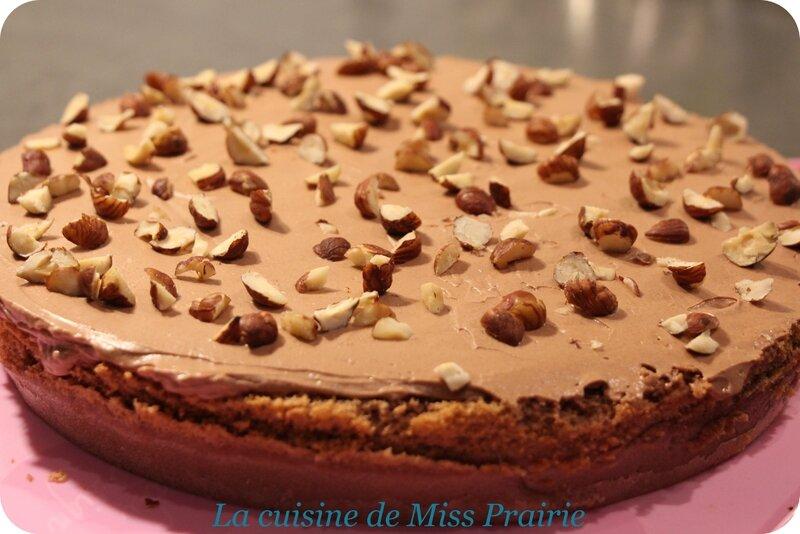 Gâteau magique choco-noisette (Nutella)