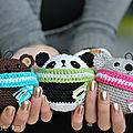 Ours, panda, koala