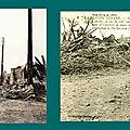 Neuville-Saint-Vasst (Pas-de-Calais), rue en ruine