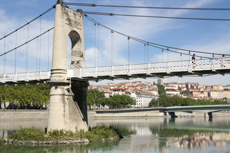 Lyon berges du Rhône