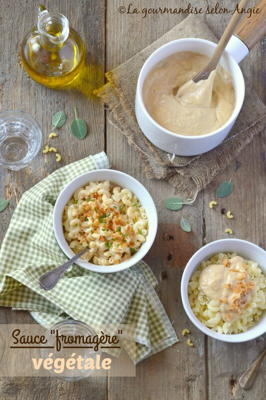 sauce fromagere vegetale