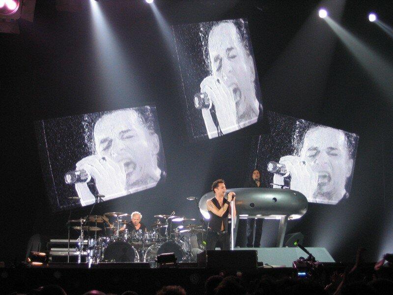 Depeche Mode Bercy 2006