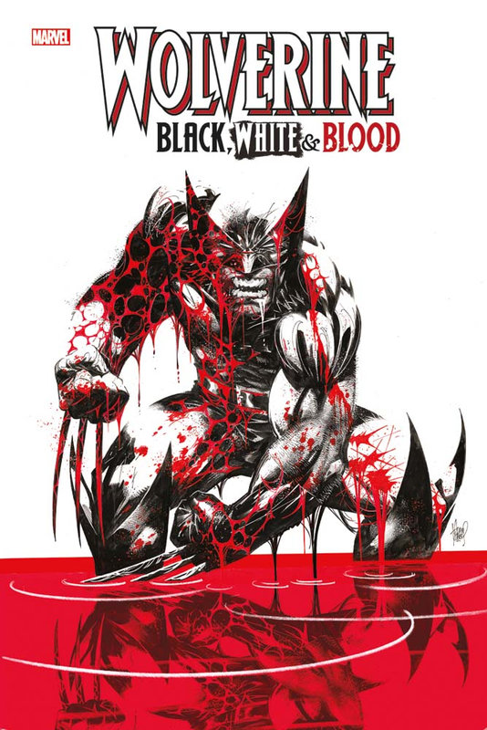 hors collection wolverine black white and blood