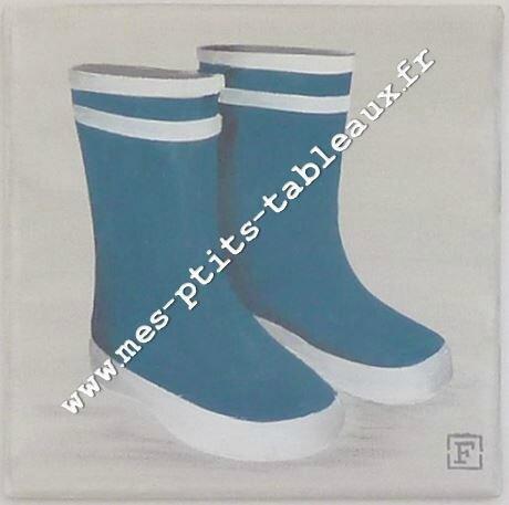 Les p'tites bottes Coloris bleu