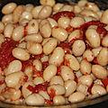 Haricots cocos de paimpol frais a la tomate