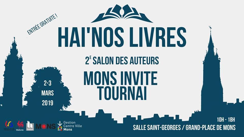 C.-L. Desguin en dédicace à MONS (Hai'nos livres) le samedi 2 mars 2019