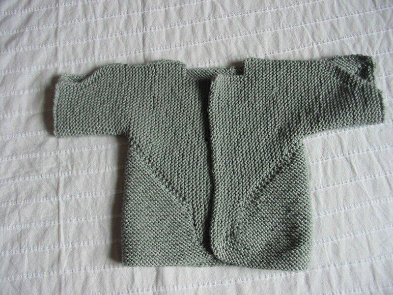 baby surprise jacket-pliée