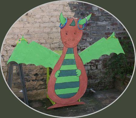 le dragon ficelé