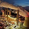 centrale à charbon aux Etats-Unis