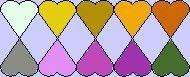 Palette fleurs