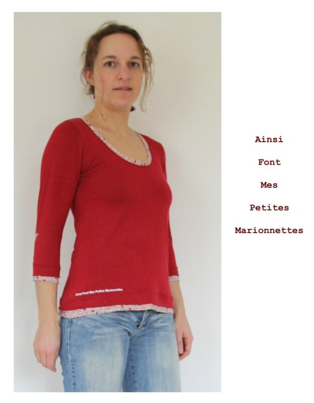 tee shirt plantain rouge 7