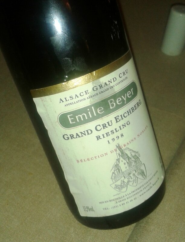 Riesling EICHBERG SGN 98