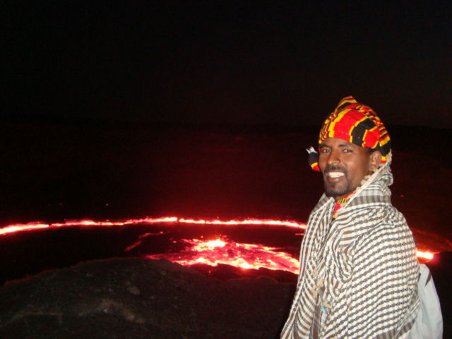 abyss land ,ertaele volcano ,afar