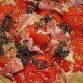 Tatin de tomates a la parmesane