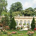 Les jardins de bagatelle.