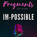 Fragments, tome 1 : im-possible