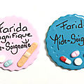 BADGES ROND / CARRE