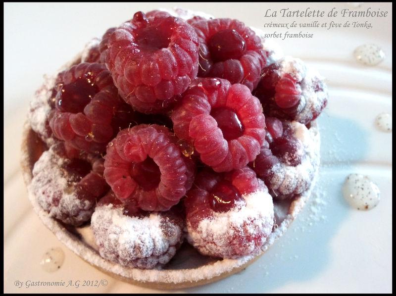 La Tartelette de Framboise