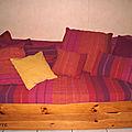 Un nouveau canapé... ou presque puisque quelque housses suffisent à tout changer ;) !