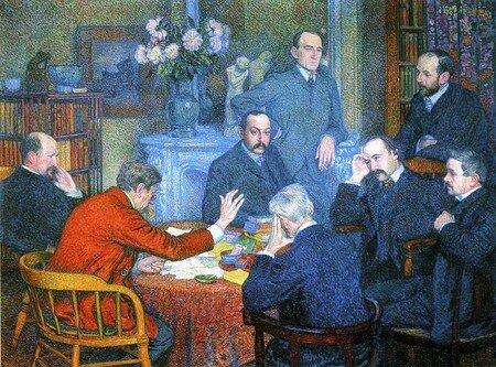 1901_De_Theo_van_Rysselberghe__Lecture_par_Emile_Verhaeren