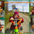 Alicia sur son tricycle Mars 2009