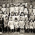 Glageon - ecole maternelle 1947 ***