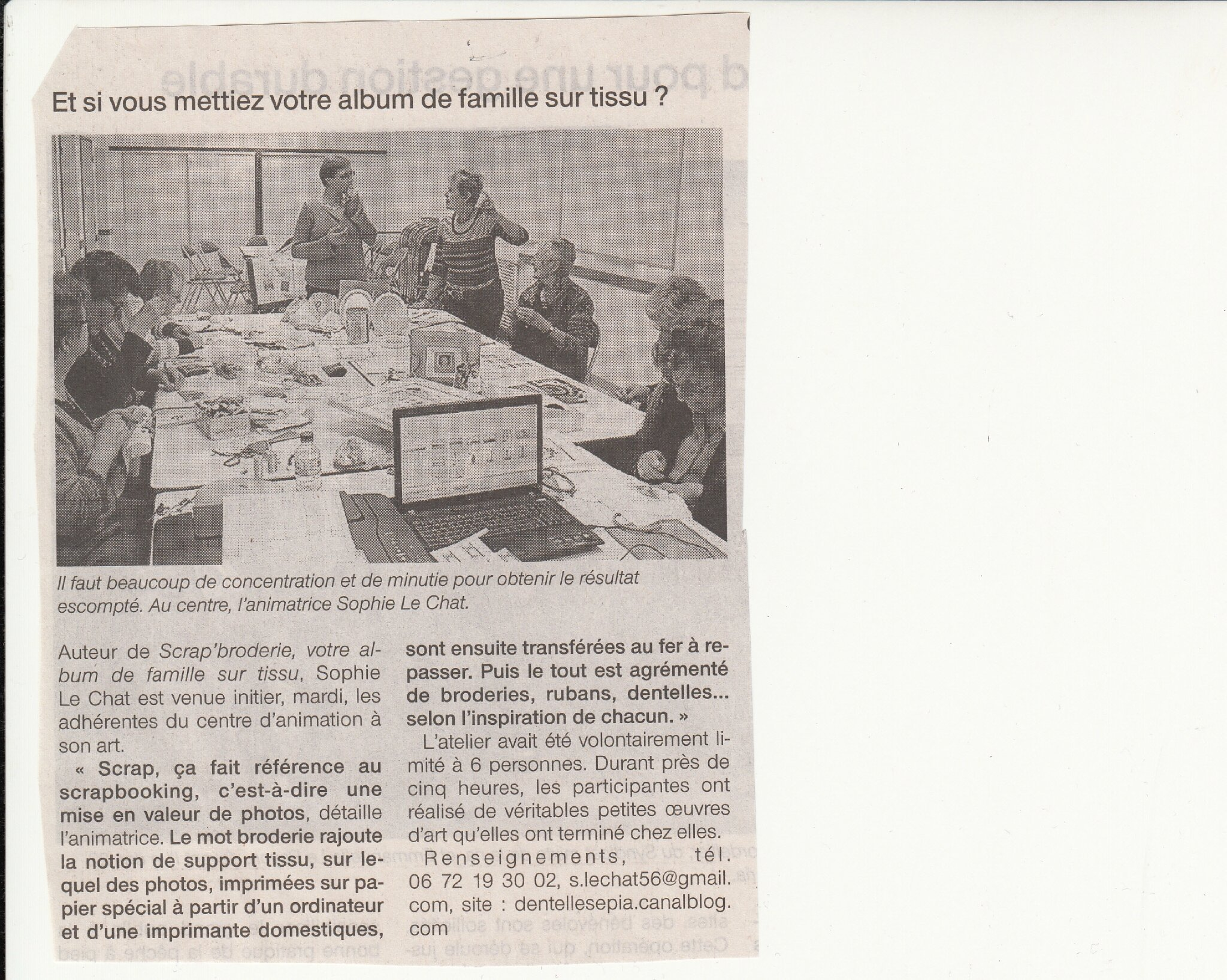 Ouest France 28 mai 2013 Plouhinec