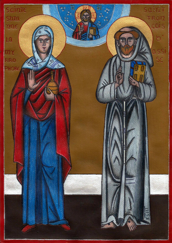 Sainte Suzanne et St François