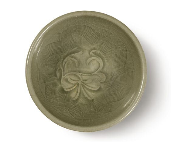 A small 'Yaozhou' celadon-glazed bowl, Northern Song dynasty (960-1127)