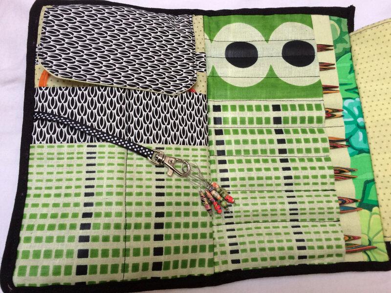 pochette pour aiguille à tricoter 1