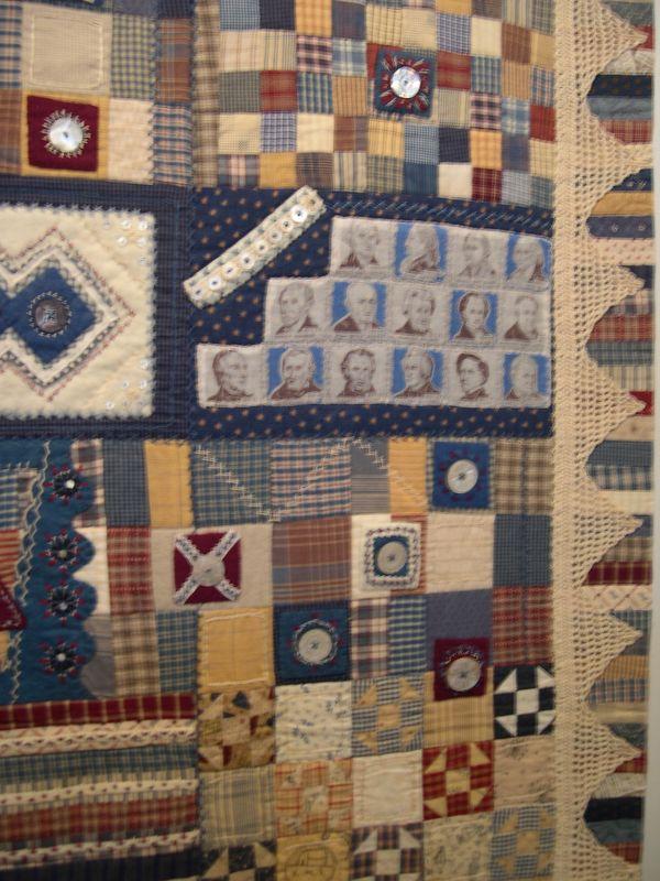 Les quilts de masako Wakayama, admirez le crochet