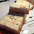Terrine de saumon / cabillaud