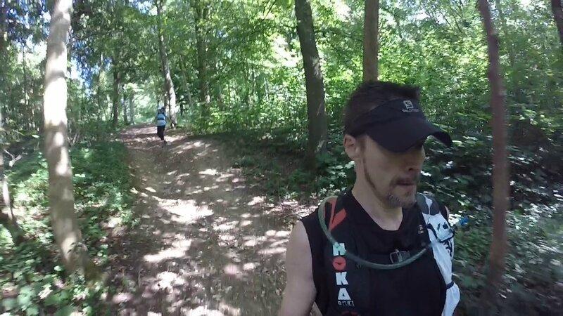11 _ Fores'Trail 2015 _ belle descente en forêt