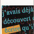 Ecrire de Marguerite Duras