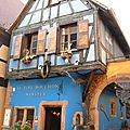 Riquewihr, le Tire bouchon