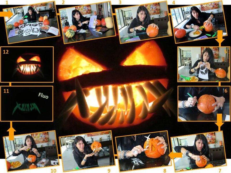 blog halloween citrouille dent kit réalisation