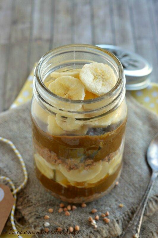 raw porridge façon banoffe pie 2
