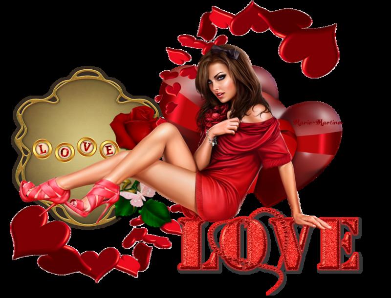 coeurs love et femme