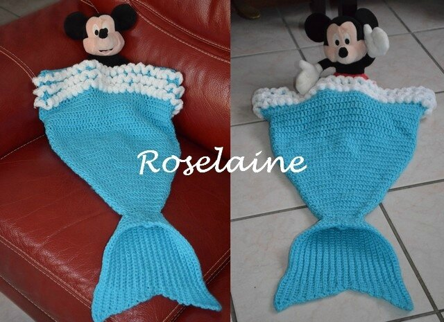 Roselaine Mermaid Cocoon
