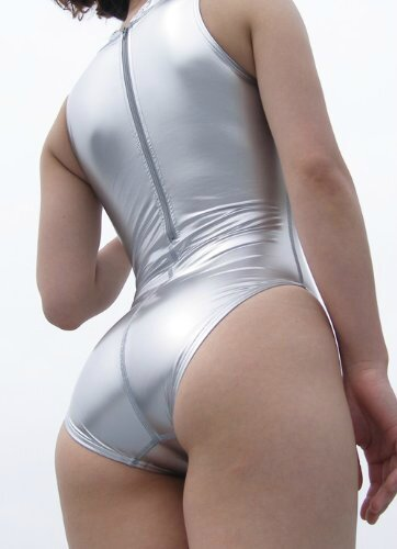 Realise Swimsuit N-007sh Silver Profile Back
