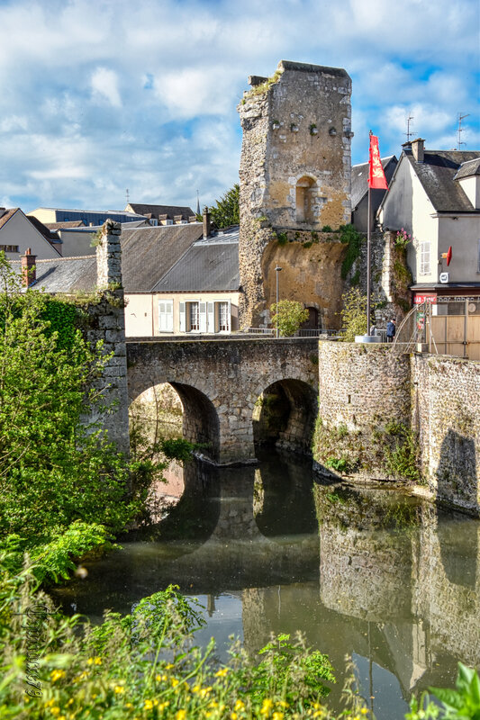 Les Fortifications de Chartres – La Porte Guillaume (Time Travel) (3)